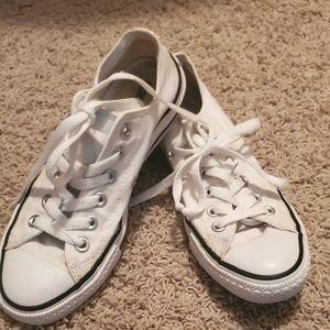 Converse White, size 7
